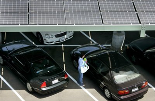 LACCD Solar Parking Lot